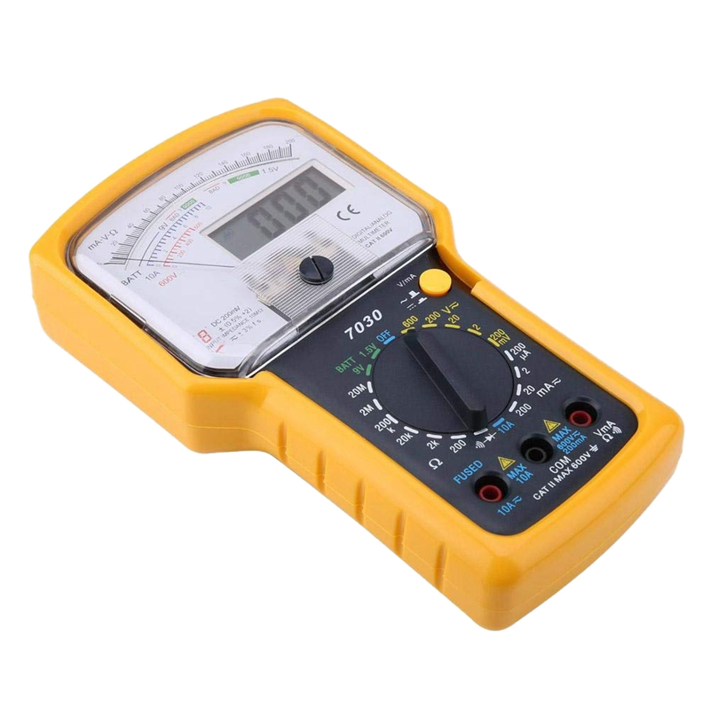 AX-7030 Analogue-digital multimeter LCD 35 digit 15mm analogue AXIOMET
