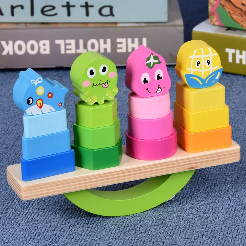 Wooden-Stacking-Toys-with-Geometry-Shape-Stacking-Blocks-amp-Stacker-Stackin-Z4B3