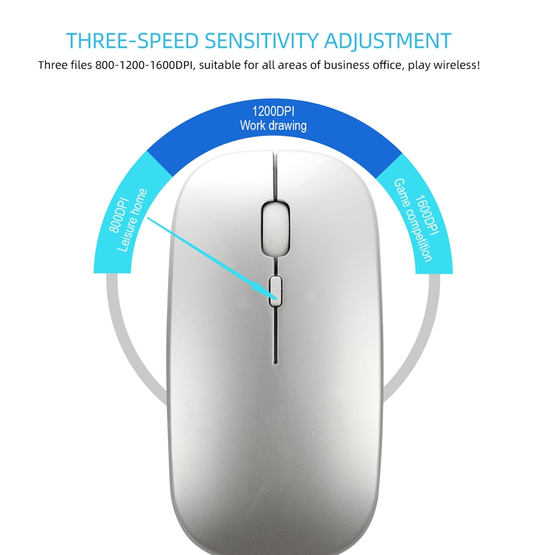 Wireless-Mouse-Computer-Bluetooth-Mouse-Silent-PC-Mouse-Rechargeable-Ergono-F6H2 thumbnail 4