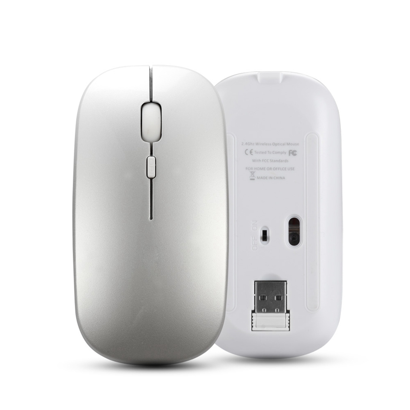 Wireless-Mouse-Computer-Bluetooth-Mouse-Silent-PC-Mouse-Rechargeable-Ergono-F6H2 thumbnail 5