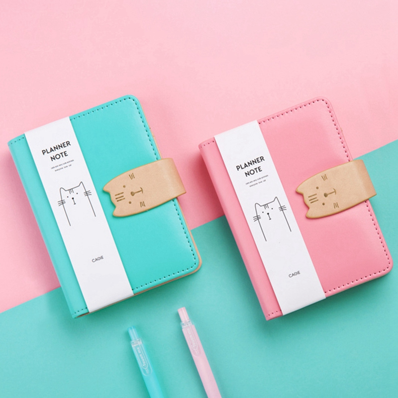 A7-Cute-Bloc-de-Notas-Cuaderno-Diario-Memos-Diario-Planificador-Agenda-Cuaderno miniatura 4