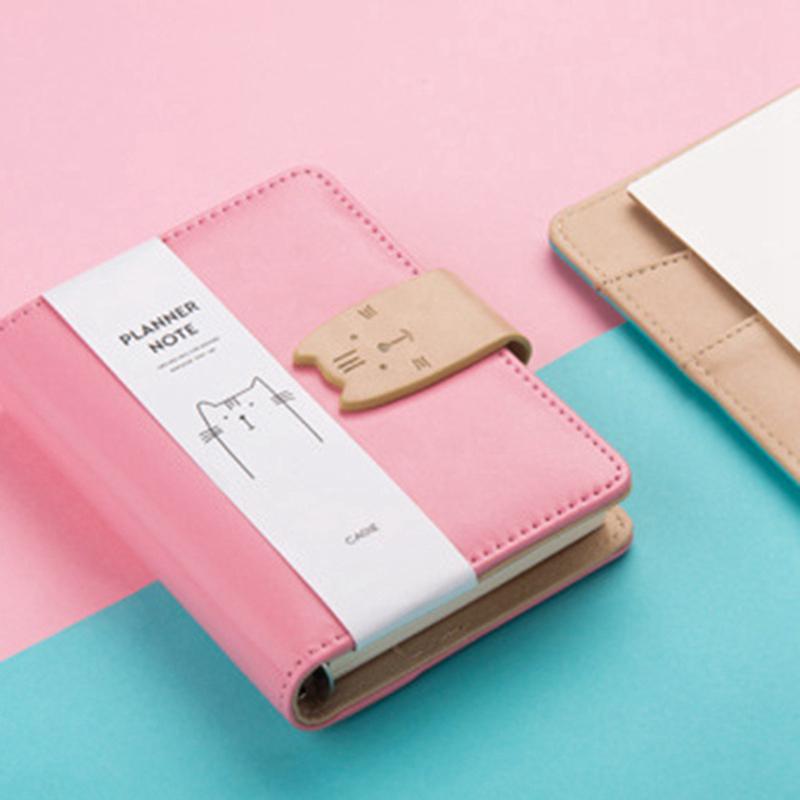 A7-Cute-Bloc-de-Notas-Cuaderno-Diario-Memos-Diario-Planificador-Agenda-Cuaderno miniatura 5
