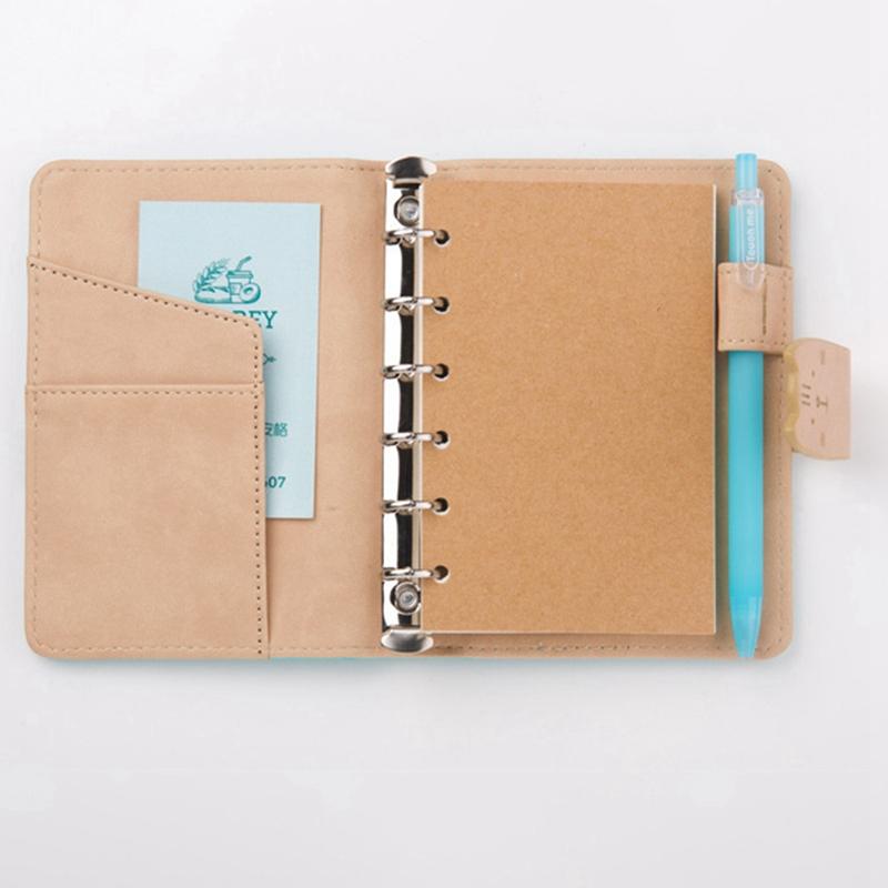 A7-Cute-Bloc-de-Notas-Cuaderno-Diario-Memos-Diario-Planificador-Agenda-Cuaderno miniatura 7