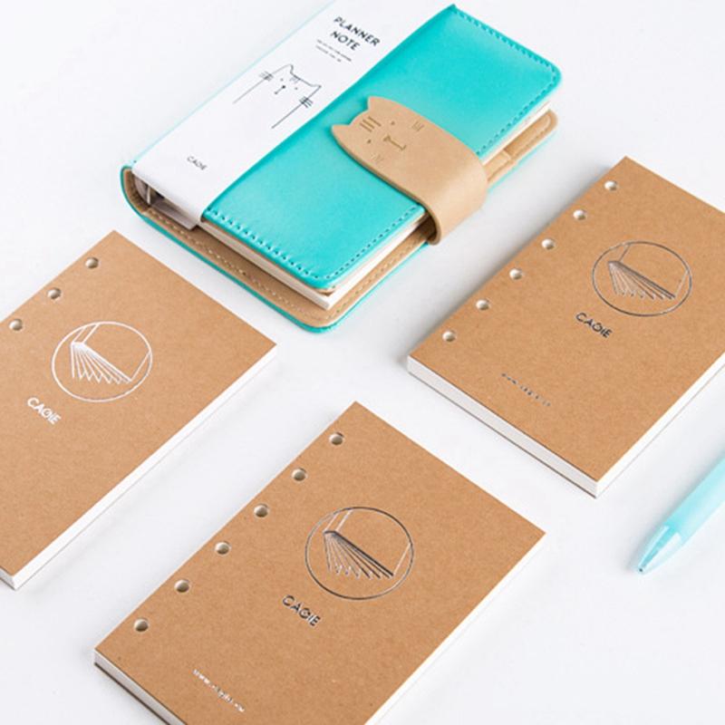 A7-Cute-Bloc-de-Notas-Cuaderno-Diario-Memos-Diario-Planificador-Agenda-Cuaderno miniatura 9