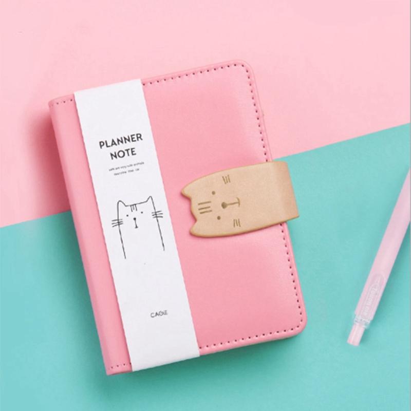 A7-Cute-Bloc-de-Notas-Cuaderno-Diario-Memos-Diario-Planificador-Agenda-Cuaderno miniatura 16