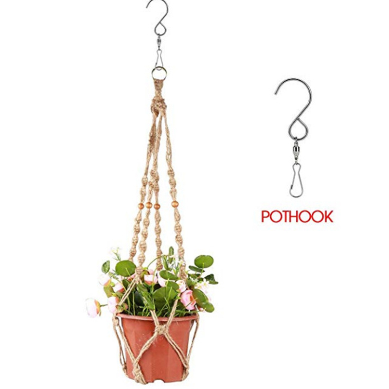 Fashion Swivel Hooks Clips for Wind Chimes Hanging Plants Wind Spinners