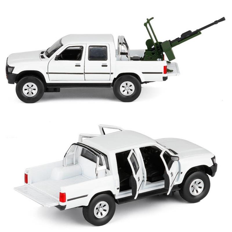 ModeLe-de-Camion-Pick-Up-1-32-Halifax-Jouets-en-Alliage-de-Simulation-et-S-Z8Z1 miniature 3