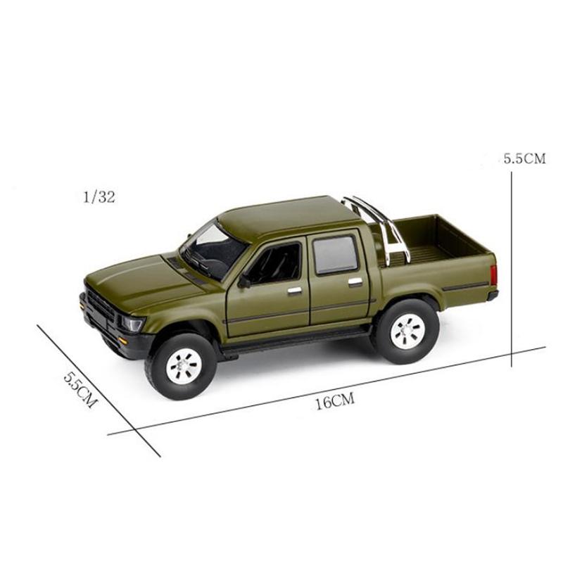 ModeLe-de-Camion-Pick-Up-1-32-Halifax-Jouets-en-Alliage-de-Simulation-et-S-Z8Z1 miniature 6