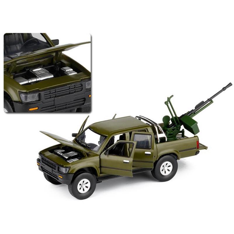 ModeLe-de-Camion-Pick-Up-1-32-Halifax-Jouets-en-Alliage-de-Simulation-et-S-Z8Z1 miniature 7