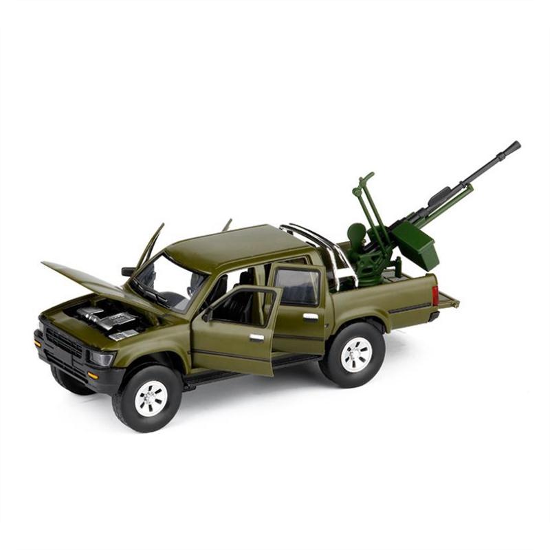 ModeLe-de-Camion-Pick-Up-1-32-Halifax-Jouets-en-Alliage-de-Simulation-et-S-Z8Z1 miniature 10