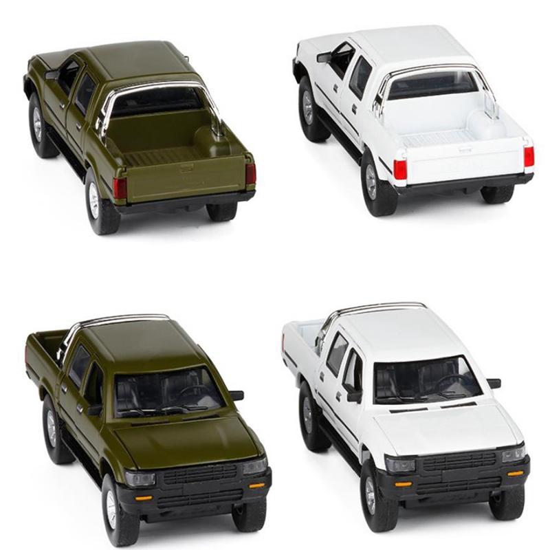 ModeLe-de-Camion-Pick-Up-1-32-Halifax-Jouets-en-Alliage-de-Simulation-et-S-Z8Z1 miniature 14