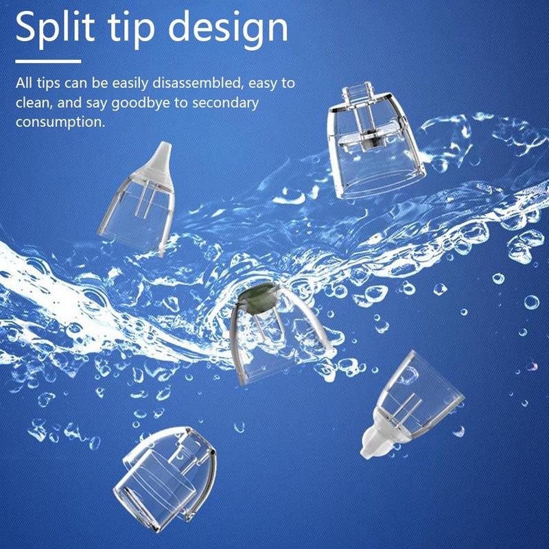 Aspirador-Nasal-para-BebeS-Limpiador-de-Nariz-EleCtrico-Limpiador-de-Mocos-C4Q8 miniatura 4