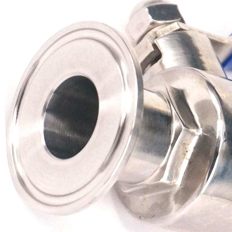 Robinet /à tournant sph/érique de 1//2 pouce robinet /à tournant sph/érique de tuyau femelle de filetage femelle de DN15 de T-port dacier inoxydable DN15