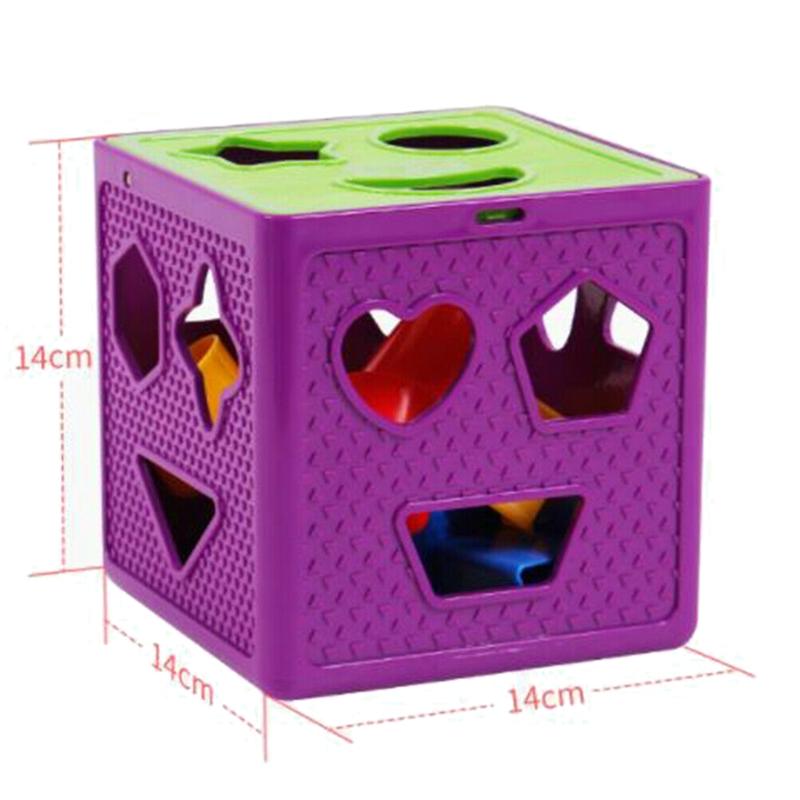 le-BeBe-Carre-Forme-le-Jouet-de-Trieuse-de-Blocs-Bloque-la-BoiTe-de-Jouets-d-T1O miniature 3