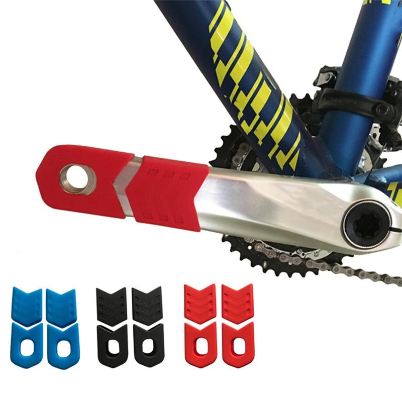 8-PCS-Bicicleta-Juego-de-Bielas-Manivela-Protector-de-Manga-Protectora-MTB-K1Q1 miniatura 4