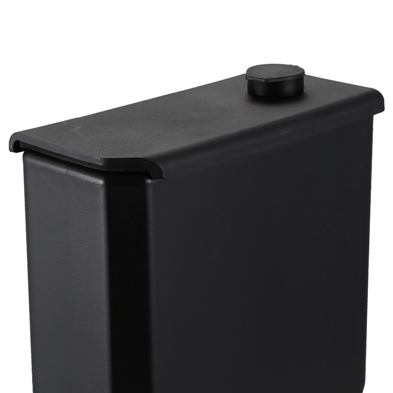 5 Liters Black Motorcycle Toolbox Motorcycle Side Frame Toolbox for BMW S6U9