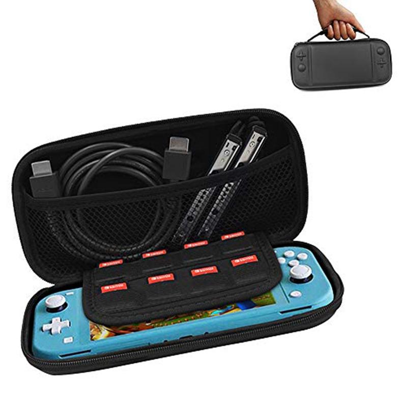 Carrying-Case-for-Nintendo-Switch-Lite-Console-amp-Accessories-Mini-Host-EVa-H-F1E thumbnail 12