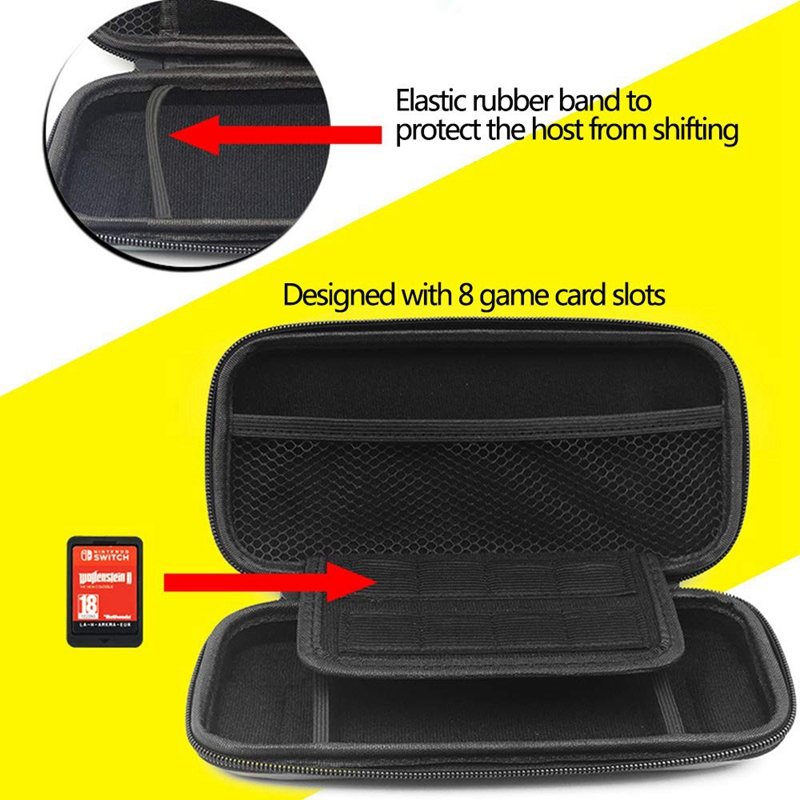 Carrying-Case-for-Nintendo-Switch-Lite-Console-amp-Accessories-Mini-Host-EVa-H-F1E thumbnail 15