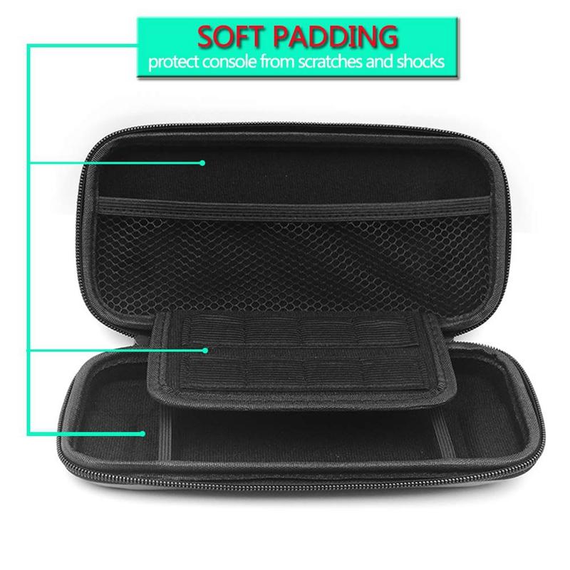 Carrying-Case-for-Nintendo-Switch-Lite-Console-amp-Accessories-Mini-Host-EVa-H-F1E thumbnail 16