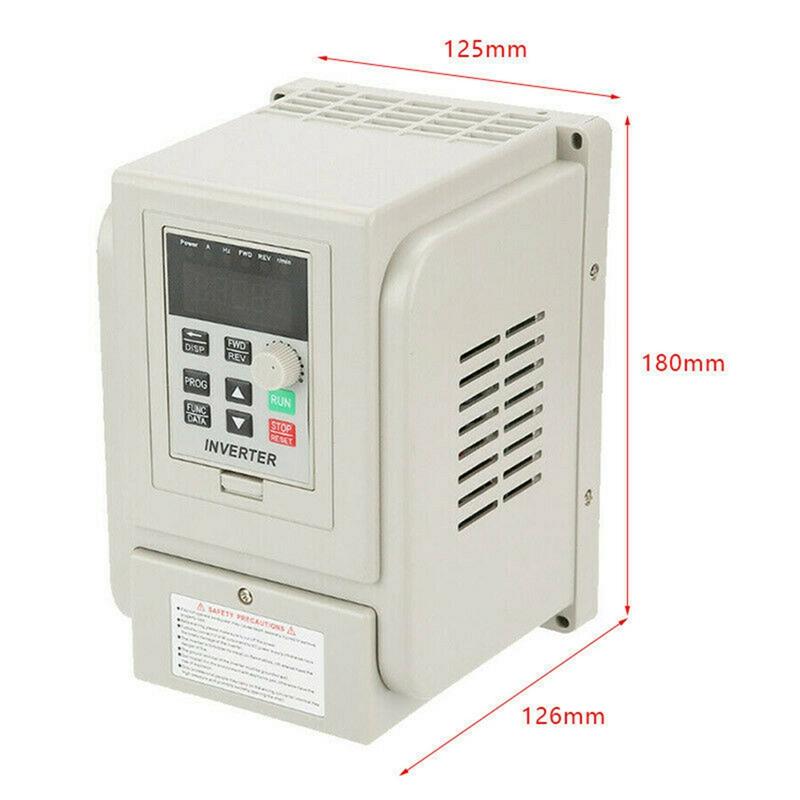 2.2KW 3HP 220V Variable Frequency Drive Inverter CNC VFD VSD Single To 3 Ph S5V0 6