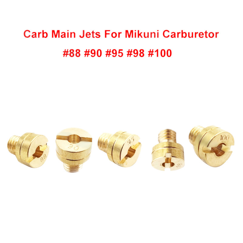 For Mikuni Carburetor VM22 VM24 VM26 VM30 125// 150// 200// 250cc Carb Main Jet Kit