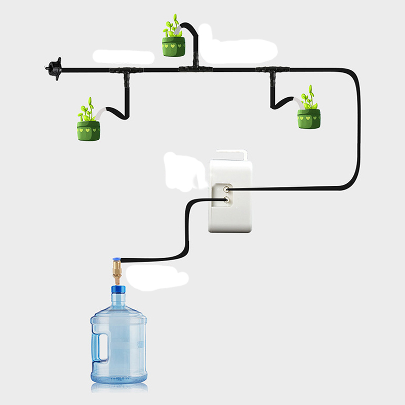Garden Supplies Automatic Watering Adjustable Drip Irrigation Water Device KE