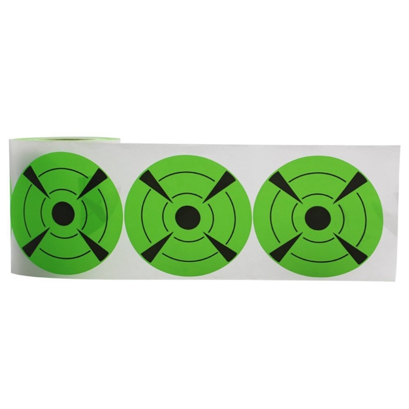 125-Pieces-Fires-Target-Stickers-3Inch-Round-Target-Dots-Stickers-Roll-for-Z2R7 thumbnail 3