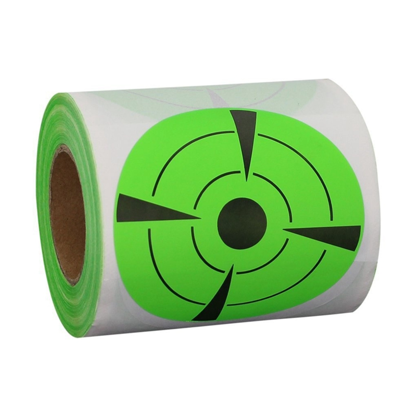 125-Pieces-Fires-Target-Stickers-3Inch-Round-Target-Dots-Stickers-Roll-for-Z2R7 thumbnail 4