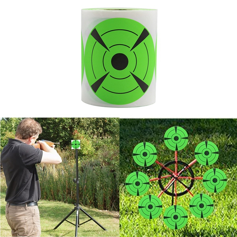 125-Pieces-Fires-Target-Stickers-3Inch-Round-Target-Dots-Stickers-Roll-for-Z2R7 thumbnail 5
