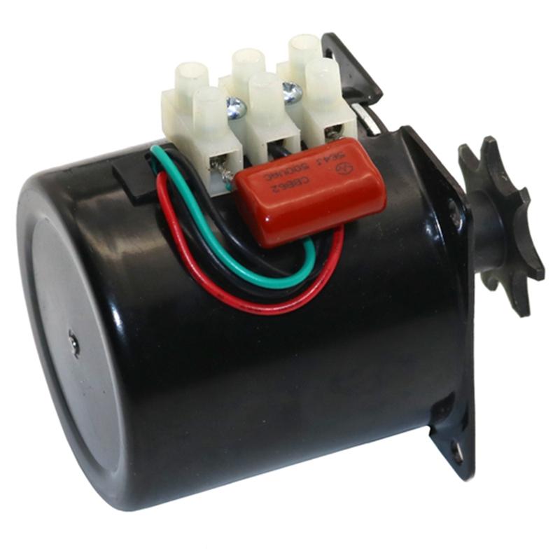 Egg-Turner-Motor-Incubator-Engine-Reversible-Geared-Motor-for-Most-IncubatoA8W8 thumbnail 5