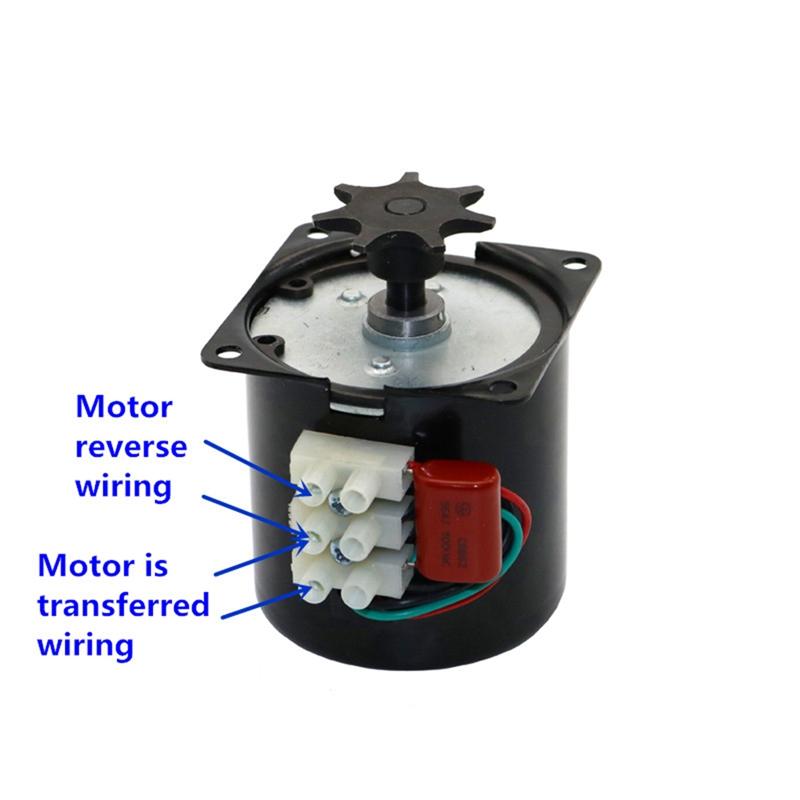 Egg-Turner-Motor-Incubator-Engine-Reversible-Geared-Motor-for-Most-IncubatoA8W8 thumbnail 8
