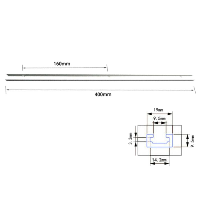 T-Schienen-T-Nuten-Vorrichtung-fuer-Aluminiumstangen-fuer-TischsaeGen-Messstan-U5G6 Indexbild 4