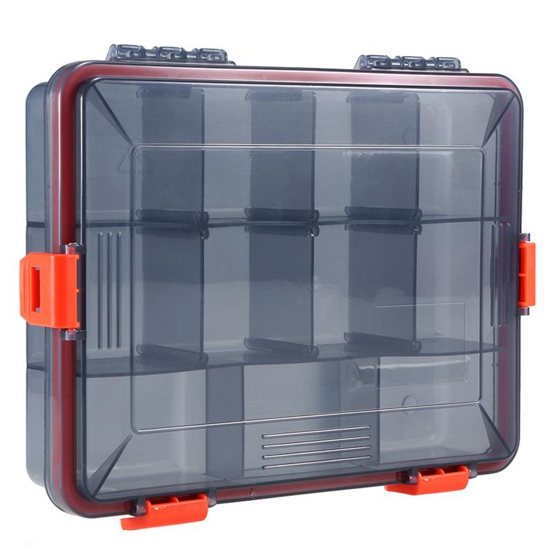 11-Compartments-Waterproof-Fishing-Tackle-Box-Fishing-Lure-Spoon-Hook-Bait-I2B6 thumbnail 7