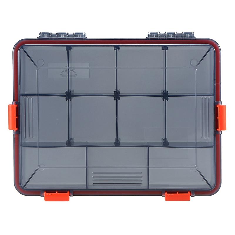 11-Compartments-Waterproof-Fishing-Tackle-Box-Fishing-Lure-Spoon-Hook-Bait-I2B6 thumbnail 8