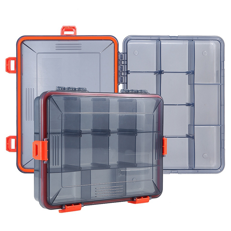11-Compartments-Waterproof-Fishing-Tackle-Box-Fishing-Lure-Spoon-Hook-Bait-I2B6 thumbnail 10