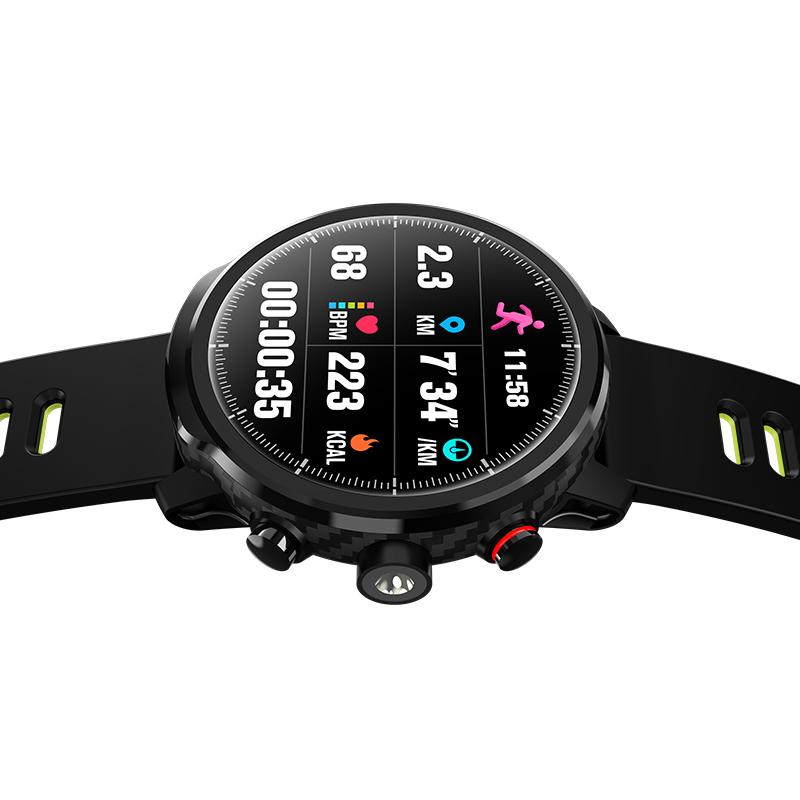 LEMFO-L5-Montre-Intelligente-Hommes-IP68-ETanche-Plusieurs-Sports-Mode-Fr-S3J9 miniature 24