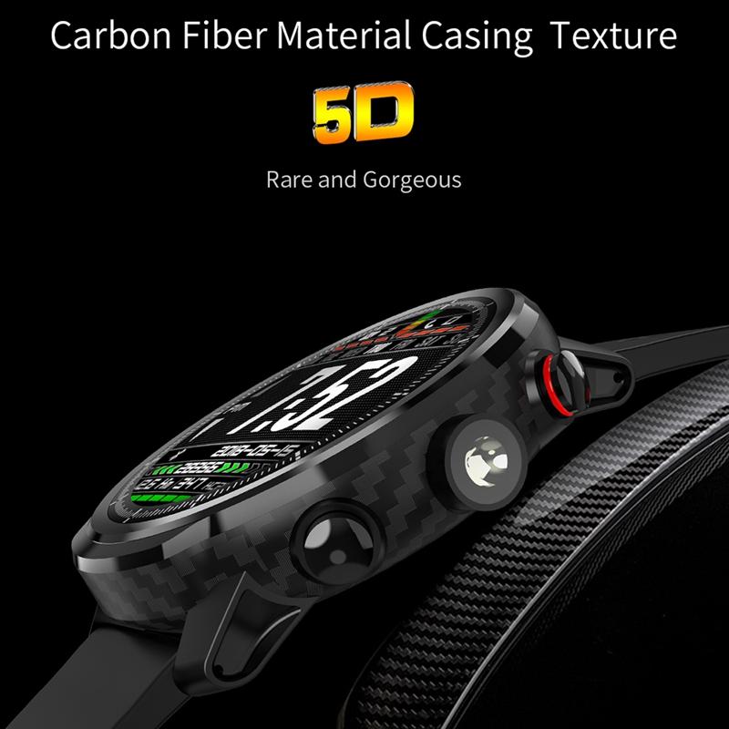 LEMFO-L5-Montre-Intelligente-Hommes-IP68-ETanche-Plusieurs-Sports-Mode-Fr-S3J9 miniature 31