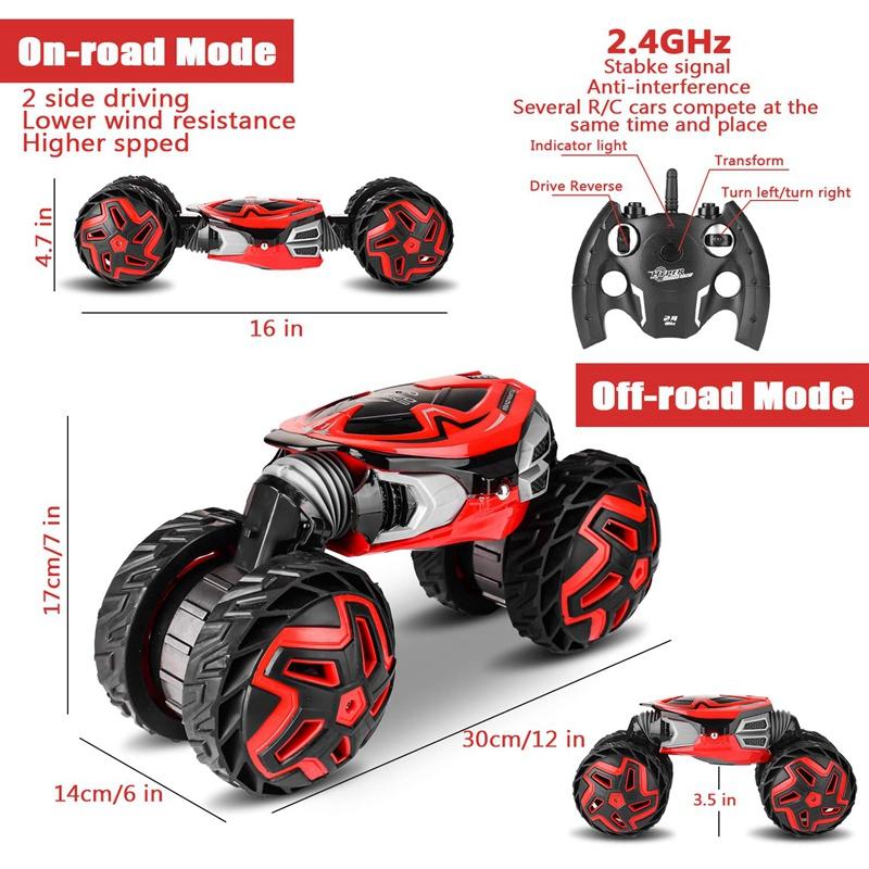 1X-CamioN-RC-Transformador-de-Alta-Velocidad-Coche-de-Control-Remoto-2-4Gh-B8C2 miniatura 7