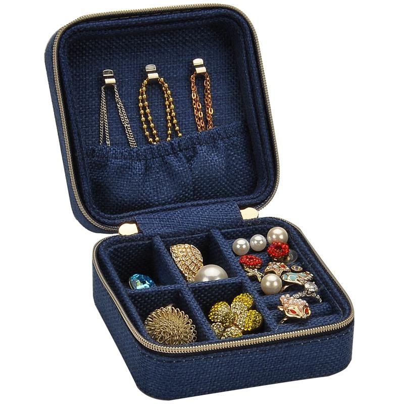 3X-Neue-Leinen-Box-Multifunktions-Halskette-Ring-Ohrringe-Armband-Aufbewahr-R4G4 Indexbild 11