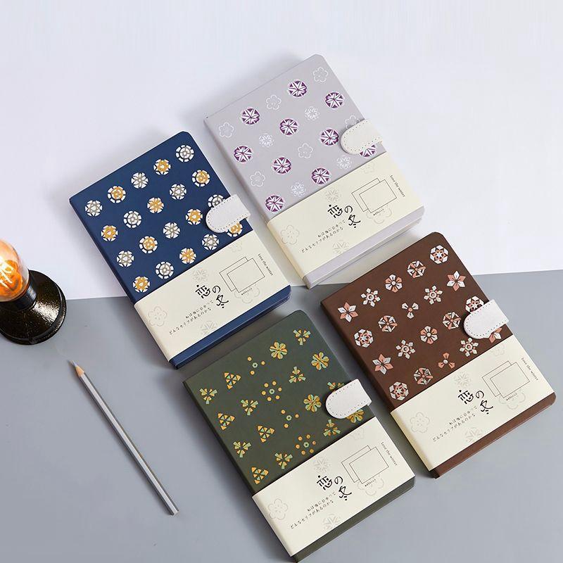 Cuaderno-Vintage-128-Hojas-Cuaderno-de-Dibujo-Diario-Cuaderno-Calidad-Diario-Pap miniatura 19