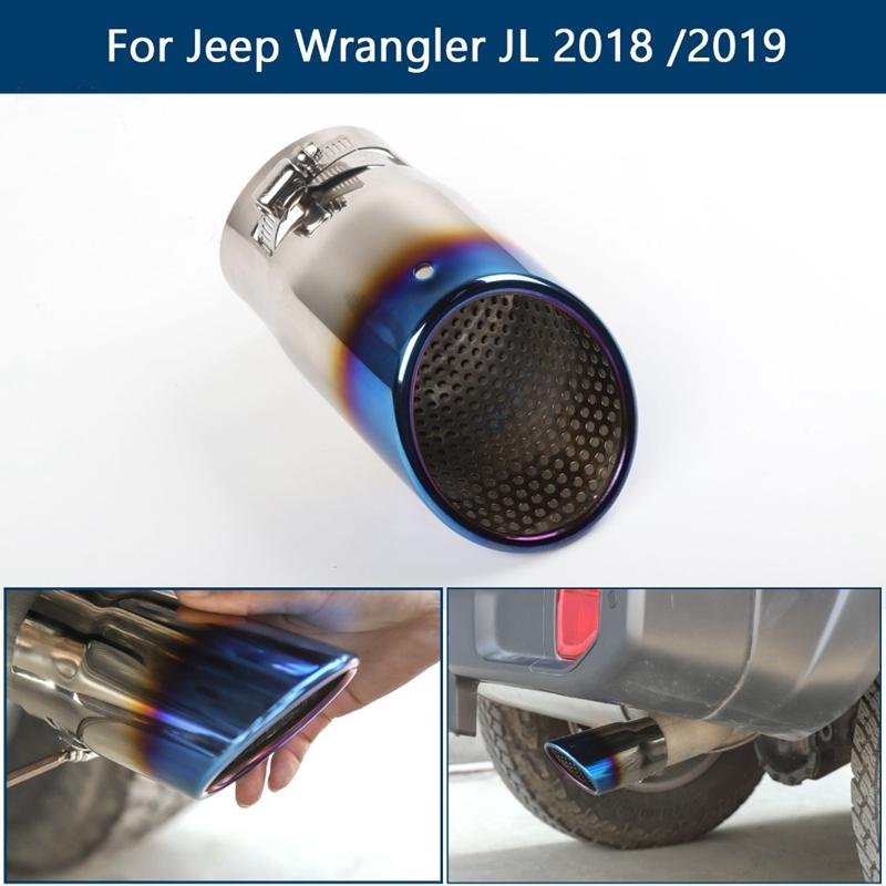 Tuyau-D-039-eChappement-de-Silencieux-de-Voiture-ArrieRe-pour-Jeep-Wrangler-JL-2018 miniature 15