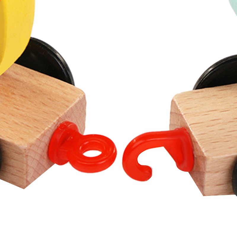 Wooden-Train-Toy-Set-11Pcs-Building-Block-Train-Toy-Train-Digital-Toy-Set-T-E3K2 thumbnail 7