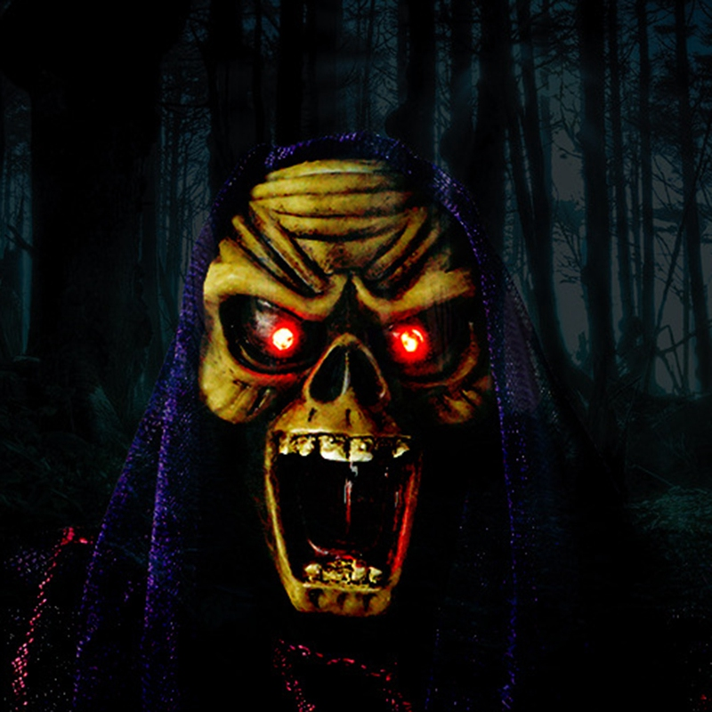 Halloween-Electric-Voice-Control-Horror-Toy-Tricky-Toy-Halloween-DecorationX2F6 thumbnail 6
