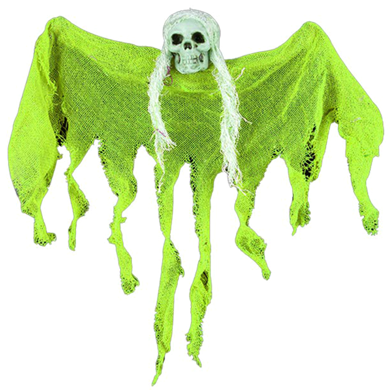 Scary Hanging Ghost Halloween Props Decoration Scary Skull