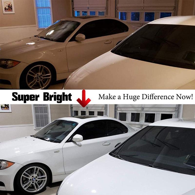 60W-LED-Garage-Lichter-E26-E27-6000LM-LED-Garage-Decken-Leuchten-fuer-Ful-C1L3 Indexbild 4
