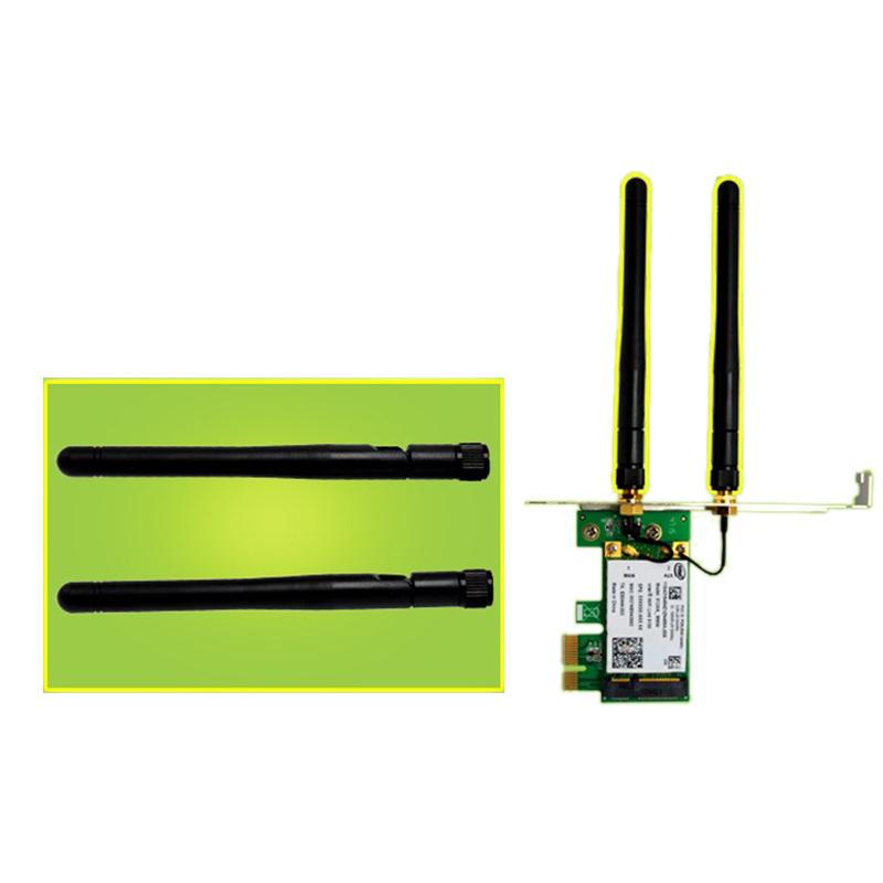 1X-SSU-300M-Dualband-WiFi-Wireless-PCIe-X1-Adapter-Desktop-Karte-fuer-5100-CP8O5 Indexbild 7