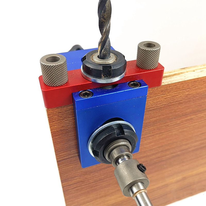 Woodworking-Three-In-One-Punch-Locator-Hole-Opener-Boring-Puncher-WoodworkiM2W7 thumbnail 5