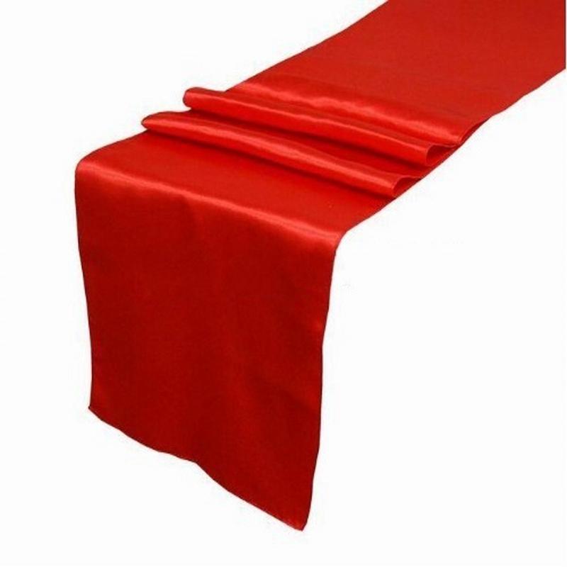 10Pcs-Set-30X275Cm-Jacquard-Style-Satin-Table-Runner-for-Hotel-Table-DecoraN2L6 thumbnail 3