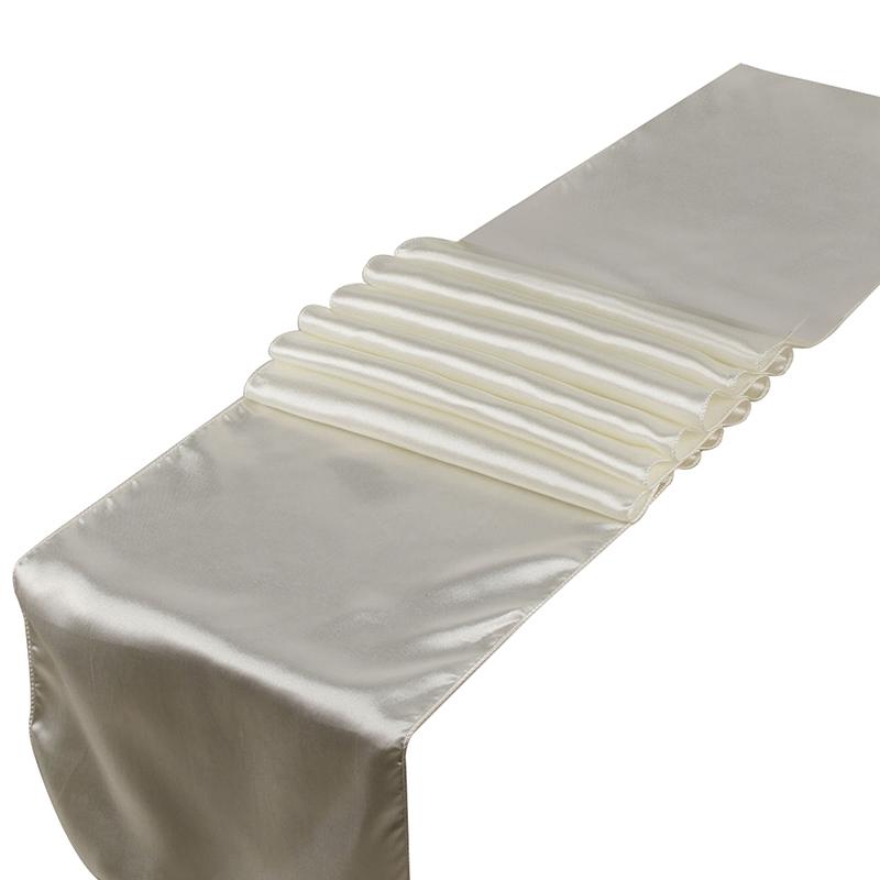 10Pcs-Set-30X275Cm-Jacquard-Style-Satin-Table-Runner-for-Hotel-Table-DecoraN2L6 thumbnail 5