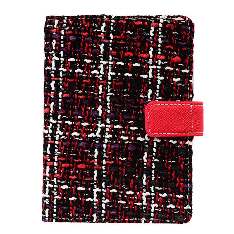Creative-A6-Wool-Cloth-Retro-Hand-Account-Book-Diary-Notebook-Stationery-Z7P9 miniatura 3